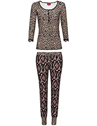 Vive Maria Baroque Beauty Pyjama leo/black allover