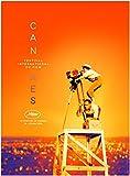 Affiche Officielle du Festival Cannes 2019 Petit Format (60 x 40 cm ROULEE) Agnés Varda