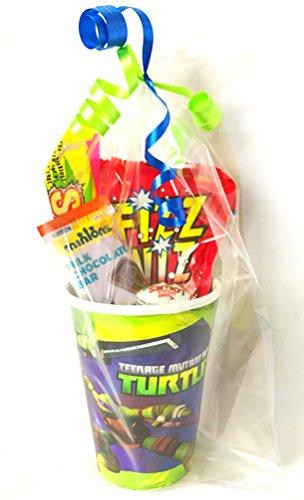 Ninja Turtles Party Sweet Cup Geschenk–Ninja Turtles Pre gefüllt Partytüten