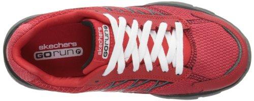 Skechers - Go Run Rideinnate, Pantofole Bambino Rosso (Rot (RDGY))