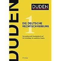 Duden: Die deutsche Rechtschreibung, Band 1 - Das umfassende Standardwerk auf der Grundlage der amtlichen Regeln (Der…