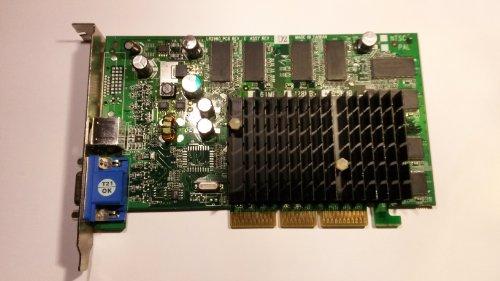 Leadtek LR2969 FX5500 256MB AGP VGA TV-out (Fx5500 Agp)