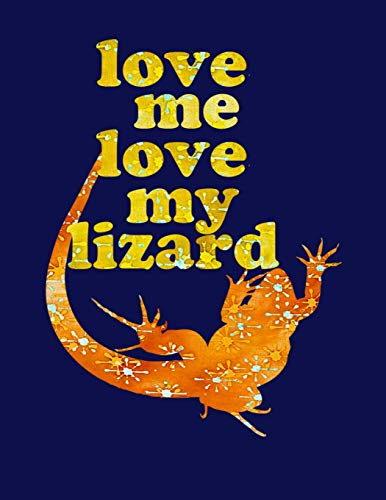 RD: 8.5x11 Fun notebook for pet Lizard Dads, Moms and Kids who love Lizards! ()