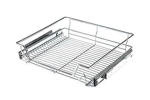 Timoo Organiseur de tiroir coulissant étagères pour armoire extractible Fil