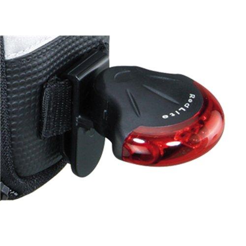 TOPEAK Unisex Aero Wedge Pack Satteltasche mit Fixer F25 schwarz
