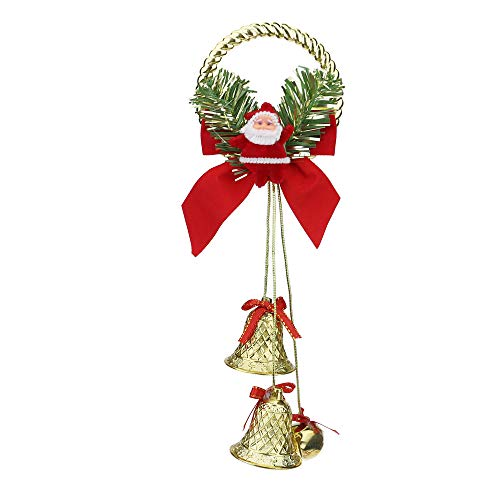 Oldeagle Weihnachtsdekoration, süßer Weihnachtsmann, Glocke zum Aufhängen an der Tür (Zum Verkauf Schwarz-weihnachtsmänner)