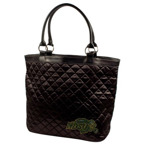 ncaa-north-dakota-state-bison-sport-noir-quilted-tote-black-by-littlearth