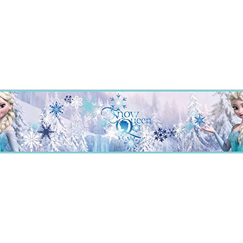 Graham & Brown 90-066 PropylenBordüre Frozen Snow Queen Kollektion Kids @ Home