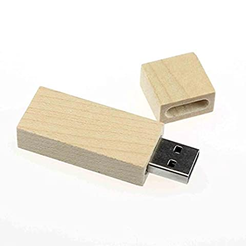 Bluestercool 1PC Bois High Speed USB2.0 flash disque de stockage Memory Stick (16GB)