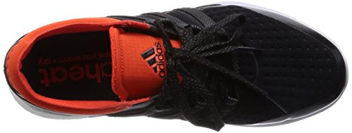 adidas Ch Sonic Boost, Chaussures de Running Compétition Homme Schwarz (Core Black/Core Black/Bold Orange)