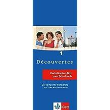 Découvertes 1 - Vokabel-Lernbox zum Schülerbuch: 1. Lernjahr passend zum Lehrwerk