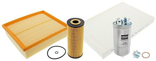 MAPCO 68824 Filtersatz - Ölfilter/Luftfilter/Pollenfilter