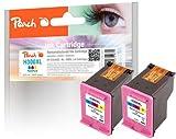 Peach PI 300-477, testa colori per HP CC644EE, n. 300XL (confezione da 2)