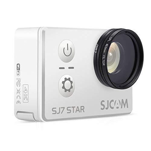 DIGITAL Action Camera Lens Filter GCMJ JSR-2057 4 in 1 40,5 mm UV + CPL-Linsenfilter-Kits mit Ringadapter + Objektivabdeckung für SJCAM SJ7 Electronic-light-action-kit