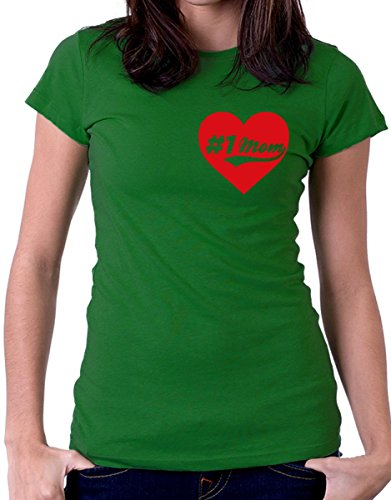 t-shirt festa della mamma mammanumero uno, number one by tshirteria verde