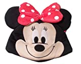 Disney Minnie Plush Cap, Black/Red (7-inch)