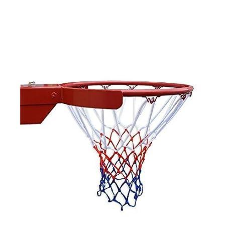2PCS Red de Baloncesto HTINAC Resistente al Desgaste 52 cm Aro de Baloncesto 12 bucle Arreglado Tablero de Baloncesto para inte