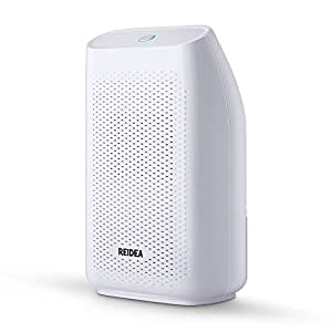 REIDEA 700ml Compact and Portable Air Dehumidifier, Powerful Small Size Dehumidifier for Damp, Moisture, Mould in Bedroom, Bathroom, Office, Kitchen, Basement, Garage