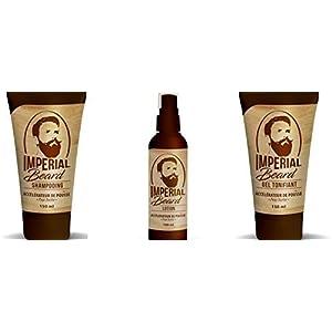 Imperial Beard Beschleuniger Wachstum Bart set 3 Produkte