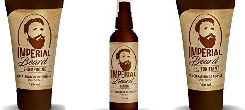 Imperial Beard Acelerador crecimiento de la barba Set 3 productos