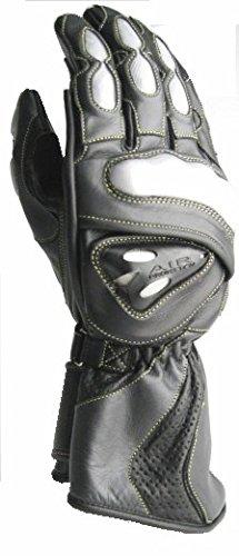 R Typ glove-black/Gunmetal XX-Large  - Schwarz / Gunmetal (Gunmetal-schwarz Handschuh)