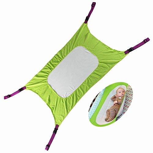 Baby Hängematte, Autbye Neue verbesserte Hängematte für Babybetten, Einstellbares, bequemes, neugeborenes Sicherheitsschlafbett Haltbare Kinderzimmer-Bett-Wiegen, Gewichtslimits bis zu 15 kg/33lb