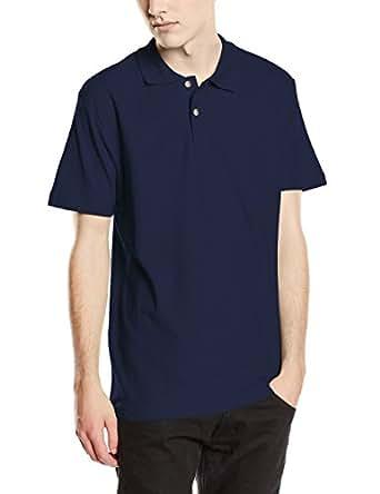 Stedman Apparel Men's Polo/ST3000 Regular Fit Short Sleeve Shirt, Navy Blue, Small