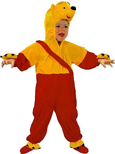 FIORI PAOLO - Kostüm Teddybär Größe 2/3 Jahre, Mehrfarbig, 004503.20