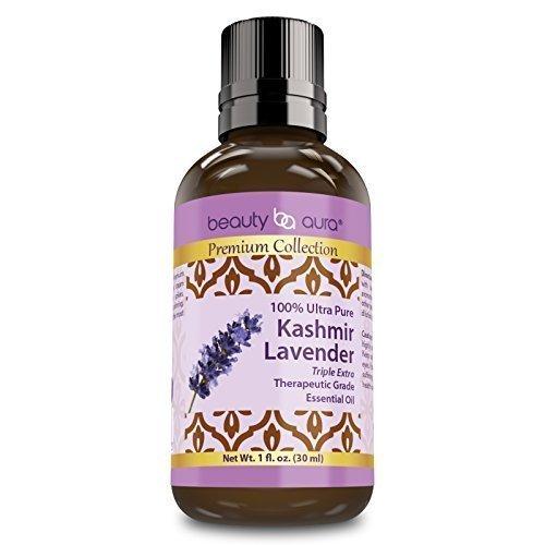 Beauty Aura Premium Collection Kashmir Lavender Essential Oil - 1oz (30ml)