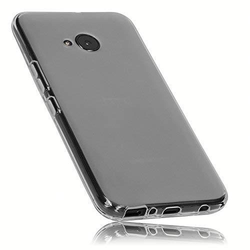 mumbi Schutzhülle für HTC U11 Life Hülle transparent Weiss