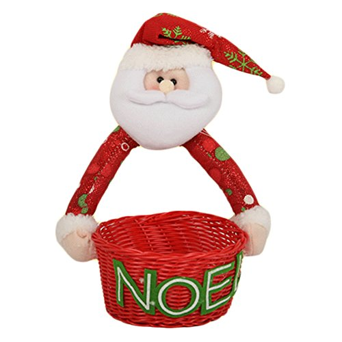 Sucrerie de Noël panier Comptoir ameublement articles Doll Décorations de Noël C