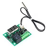 KKmoon XH-W1209 Digital Thermostat High Precision Temperature Controller Heating/Cooling Thermostat Temperature Control Switch Module Mini Temperature Control Board