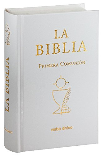 La Biblia (bolsillo - cartoné - Primera Comunión): 15 x 10 (Biblias Verbo Divino) por EVD