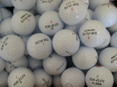 100 Assorted Top Flite AAA Grade Golf Balls
