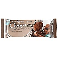 Quest Nutrition 60g Double Chocolate Chunk Protein Bar - Pack of 12