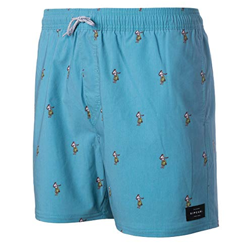 RIP CURL - Volley Archipelagoes 16`` - Boardshorts Size L, Turquoise/Blue
