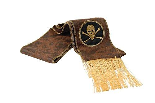 Piraten Seeräuber Schärpe (Schärpe Piraten)