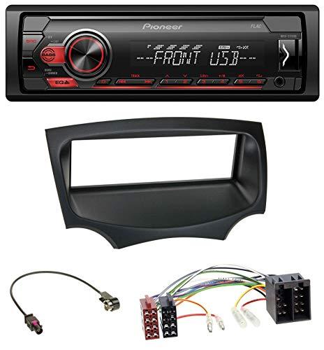 caraudio24 Pioneer MVH-S110UB AUX MP3 USB 1DIN Autoradio für Ford Ka (RU8, ab 2008)