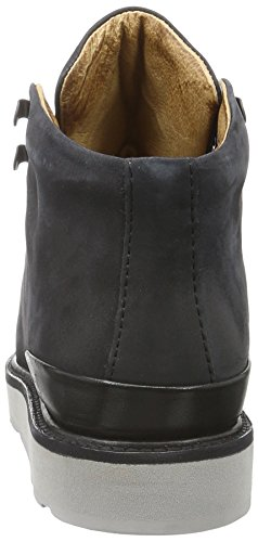 Blackstone Damen Mw76 Desert Boots Schwarz (Black)