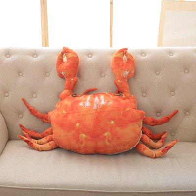 Hebao Crab Puppe Plüsch Spielzeug Hummer Kissen crab Puppe crab Meer crab doll Geburtstag Geschenk Freundin, simulation Krabbe, 50 * 60 cm (Höhe an der Pfote) (Captain America-spiele F)