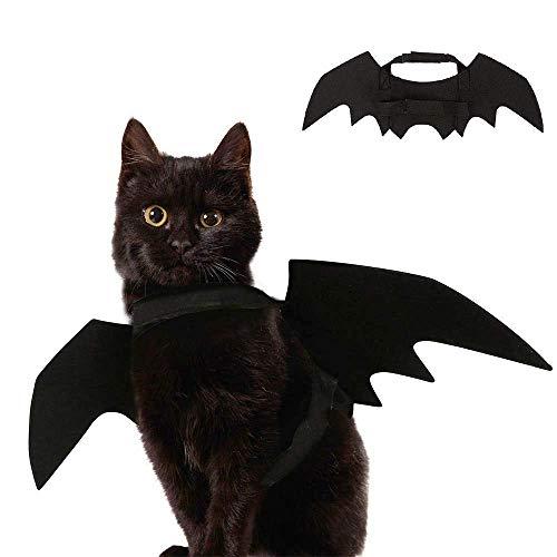 Neerity Fledermausflügel-Kostüm für Katzen und Hunde