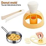 DIY Donut Maker Kuchenform Desserts Gebäck Brotschneider Kuchen Dekorieren Tools Backen Liefert Küchenhelfer