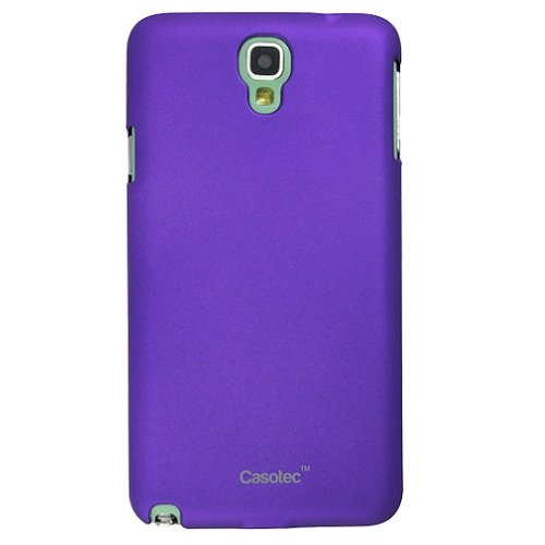 Casotec Ultra Slim Hard Shell Back Case Cover for Samsung Galaxy Note 3 Neo - Purple  available at amazon for Rs.99
