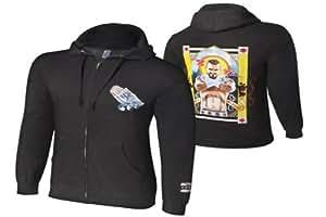 NEU+ORIGINAL CM Punk-WWE Full Zip Sweatshirt Second City Saint 2013 WWE-SWEATSHIRT: Größe S-3XL