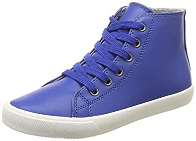 United Colors of Benetton Unisex's Blue Sneakers-1 UK/India (33 EU) (18A8H6DB203JG)