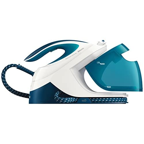 Philips GC8715/20 Perfect Care Performer Steam Generator Iron, 1.8 Litre, 2600 W, 6 Bar, Blue