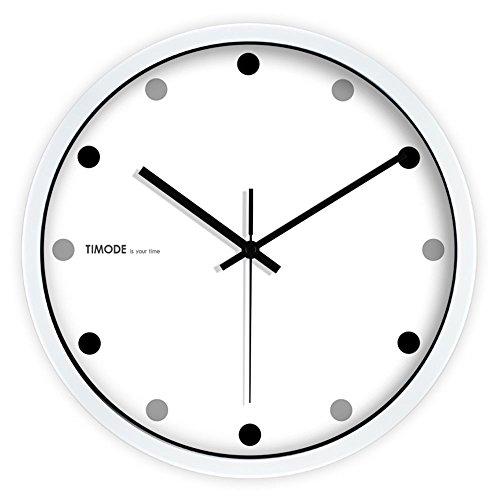 Qiangzi Klassische Wanduhr Mute Wanduhr Wohnzimmer Ist Einfach Mode Uhren  Große Klassiker Schwarz Und Weiß Kreativ Great Pictures