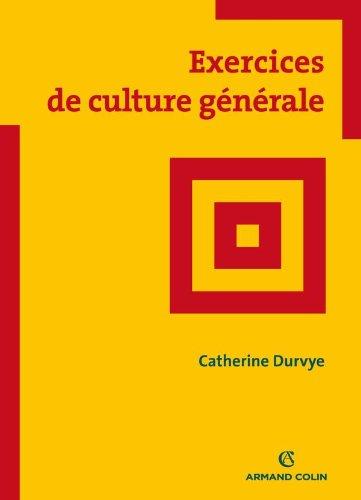 Exercices de culture générale