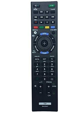 Universel télécommande de Remplacement pour Sony TV–Rm-ed047