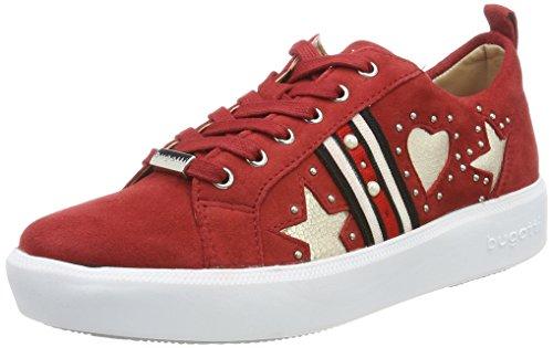 Bugatti Damen 422407013419 Sneaker, Rot (Red/Metallics 3090), 40 EU
